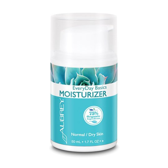 Aubrey Organics EveryDay Basics Moisturizer Normal/Dry Skin, 50 ml