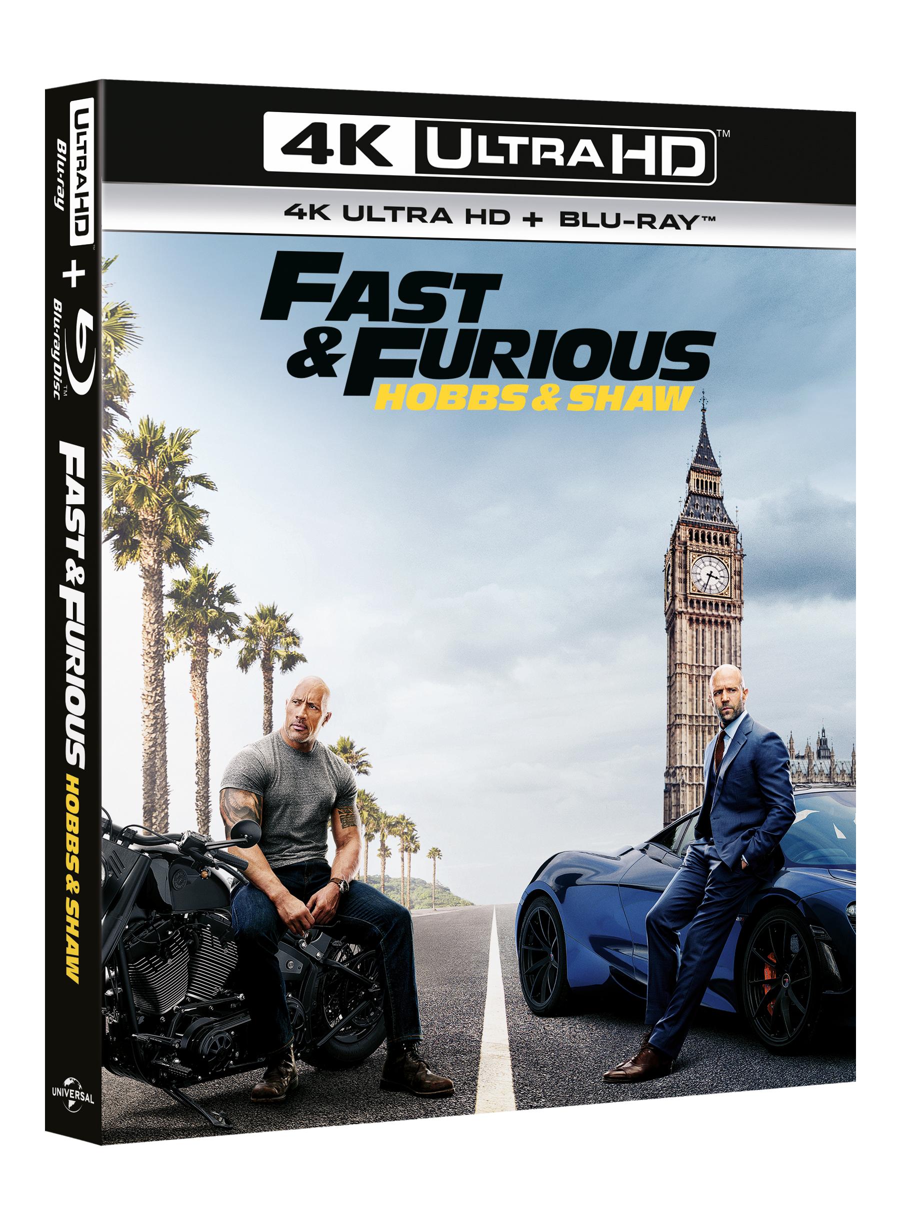 Fast & Furious Presents: Hobbs & Shaw (Uhd+Bd)
