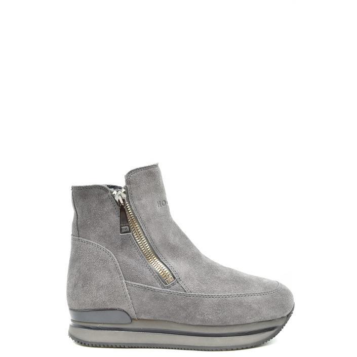 Hogan Women's Boot Grey 185938 - grey 35