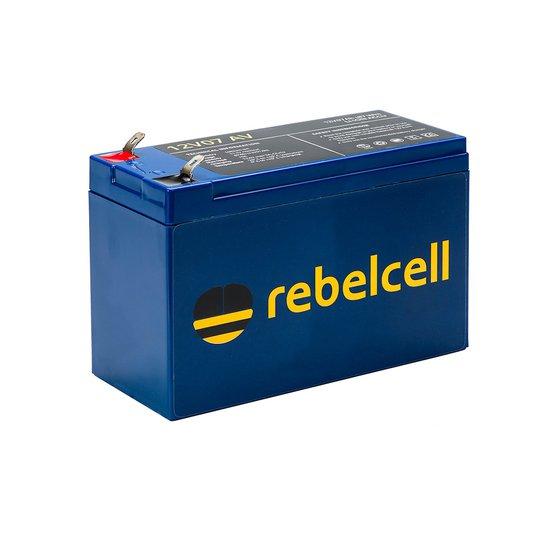Rebelcell 12V 7 Ah litiumbatteri