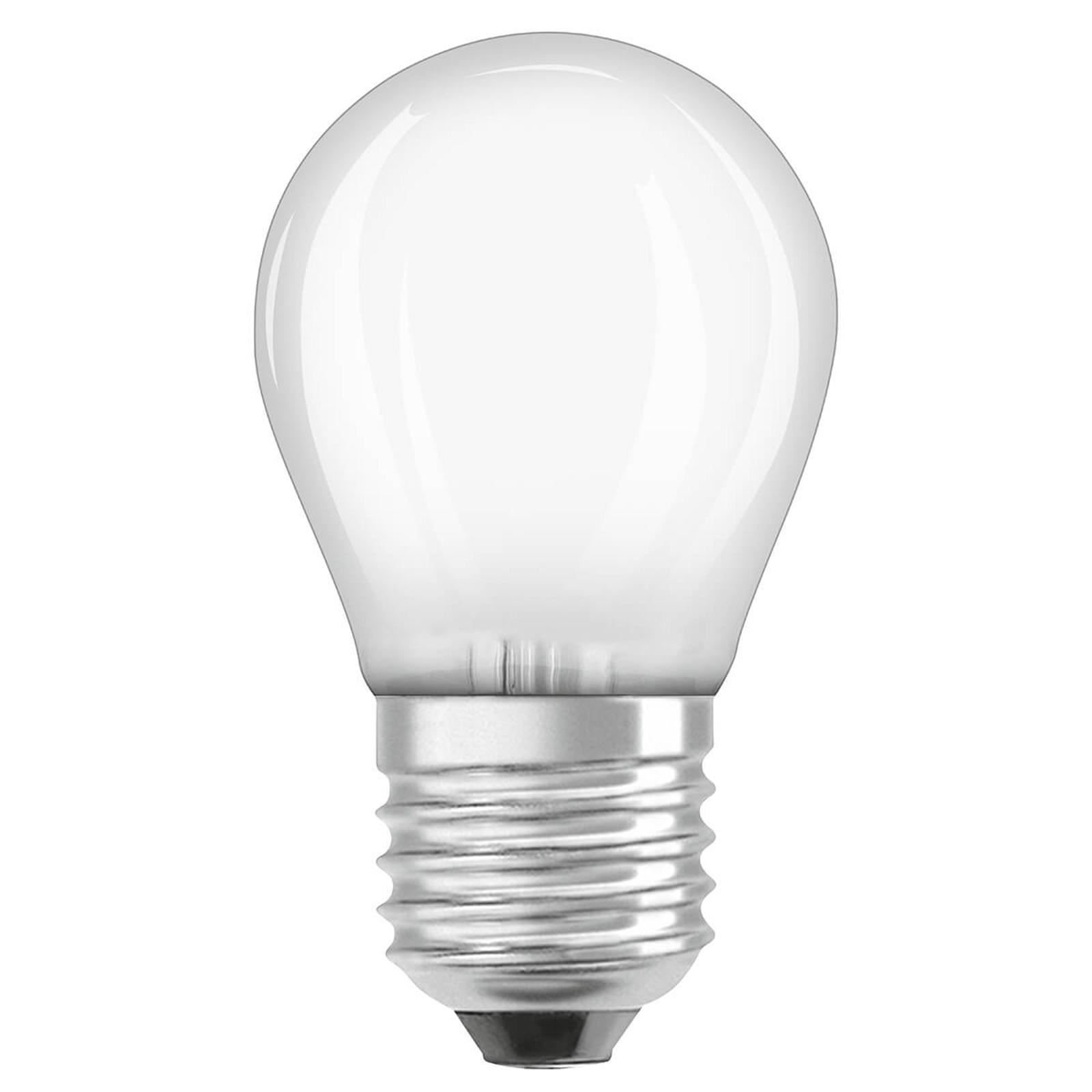 OSRAM-LED-golfpallolamppu E27 2,8W 827 himmennys