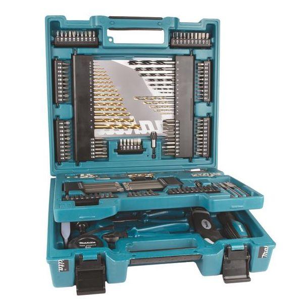 Makita D-37194 Bor- og bitssett 200 deler