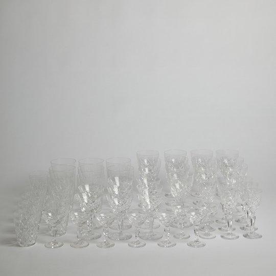 "Orrefors - Glasservis ""Karolina"" 52 delar"