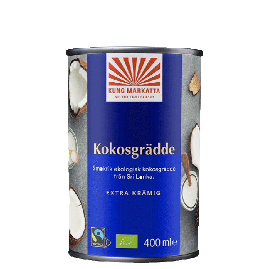 Kokosgrädde, 400 ml