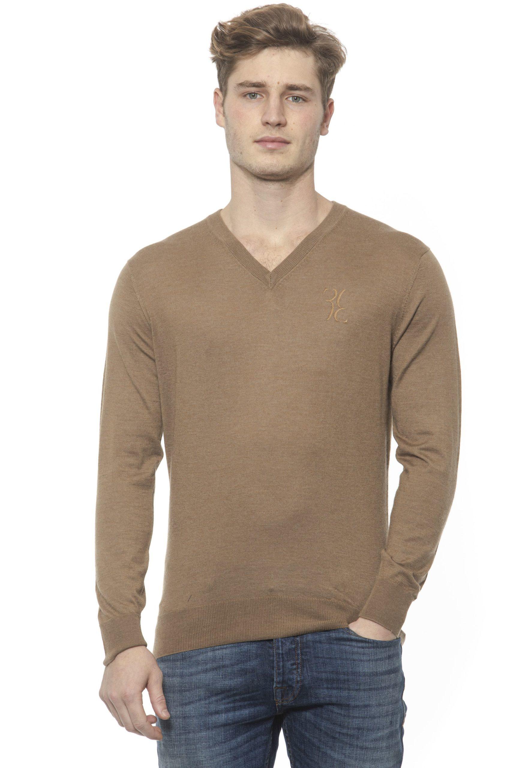 Billionaire Italian Couture Men's Tabacco Sweater Beige BI1313488 - M