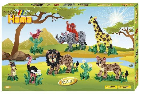 Hama - Giant Giftset - Safari (383041)