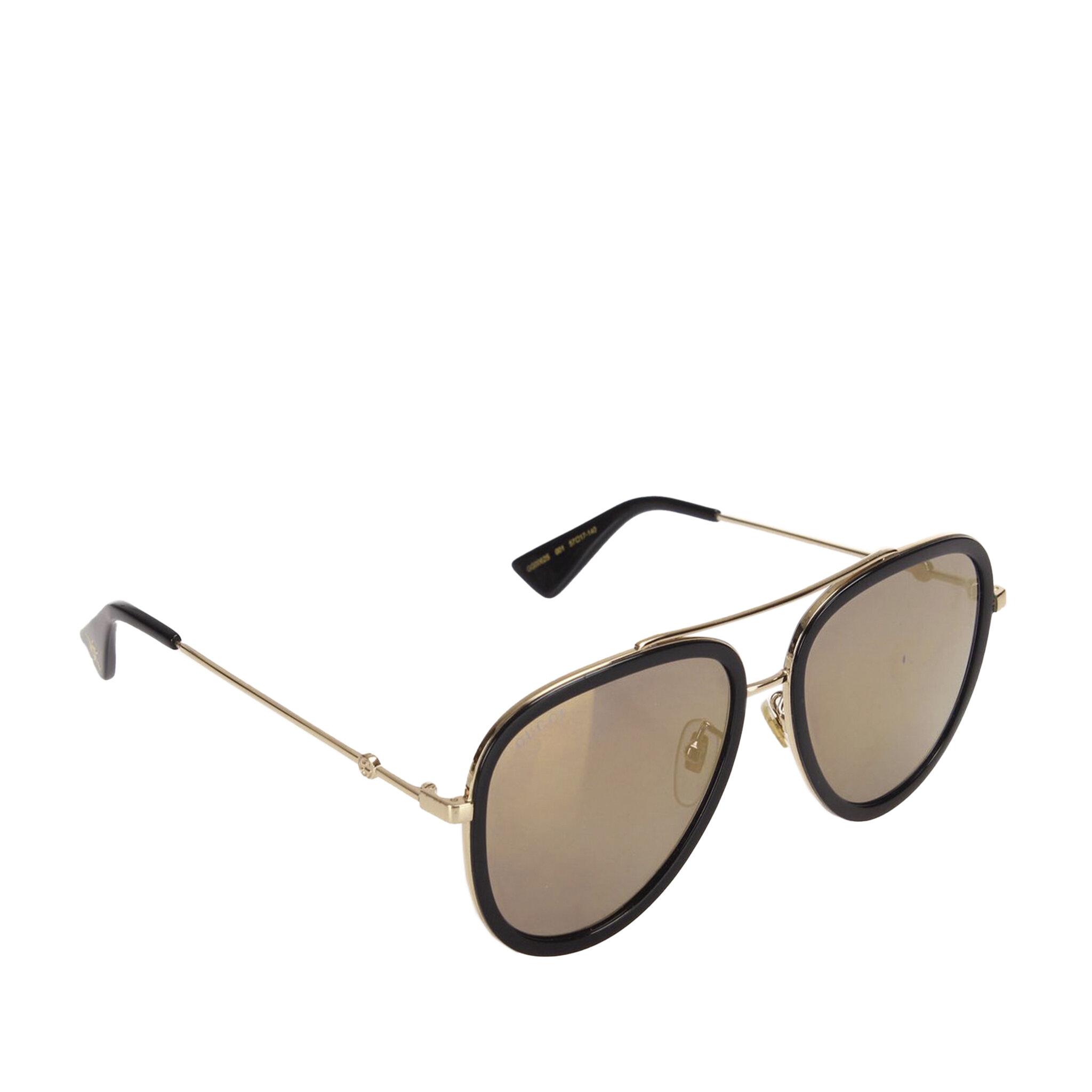 Gucci Aviator Tinted Sunglasses, ONESIZE