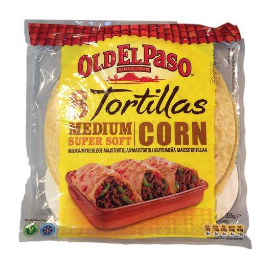Tortilla corn supersoft - 40% rabatt