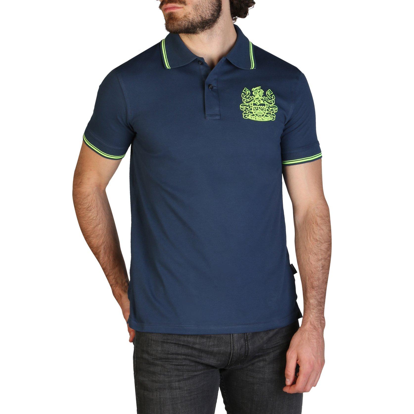 Aquascutum Men's Polo Shirt Various Colours QMP025 - blue S