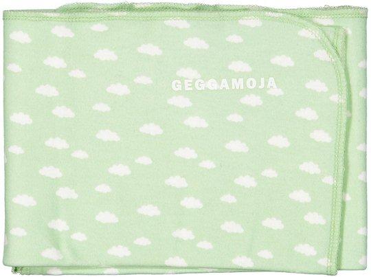 Geggamoja Pledd Bamboo Cuddly, Mint Cloud