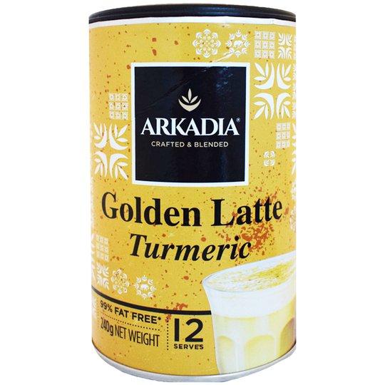 """Kaffepulver """"Golden Latte Turmeric"""" 240g - 67% rabatt"""