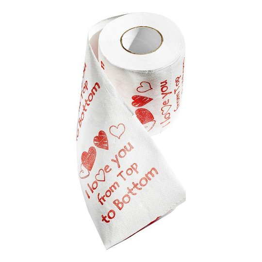 Toalettpapper I Love You - 1-pack
