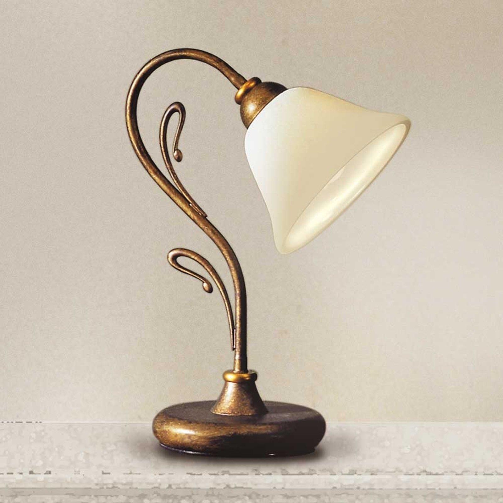 Stilig bordlampe Antonio
