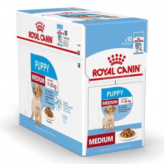 Royal Canin Medium Puppy Våtfoder (10x140g)