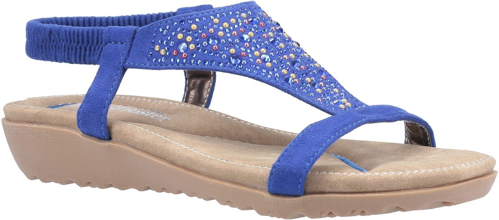 Fleet & Foster Women's Nicosia Slingback Sandal Various Colours 23732 - Blue 5