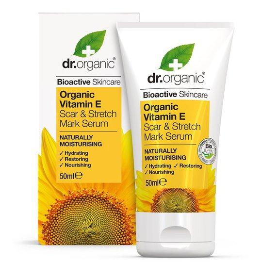 Dr. Organic Vitamin E Scar & Stretch Mark Serum, 50 ml
