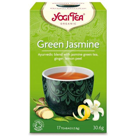 Yogi Tea Green Jasmine, 17 påsar