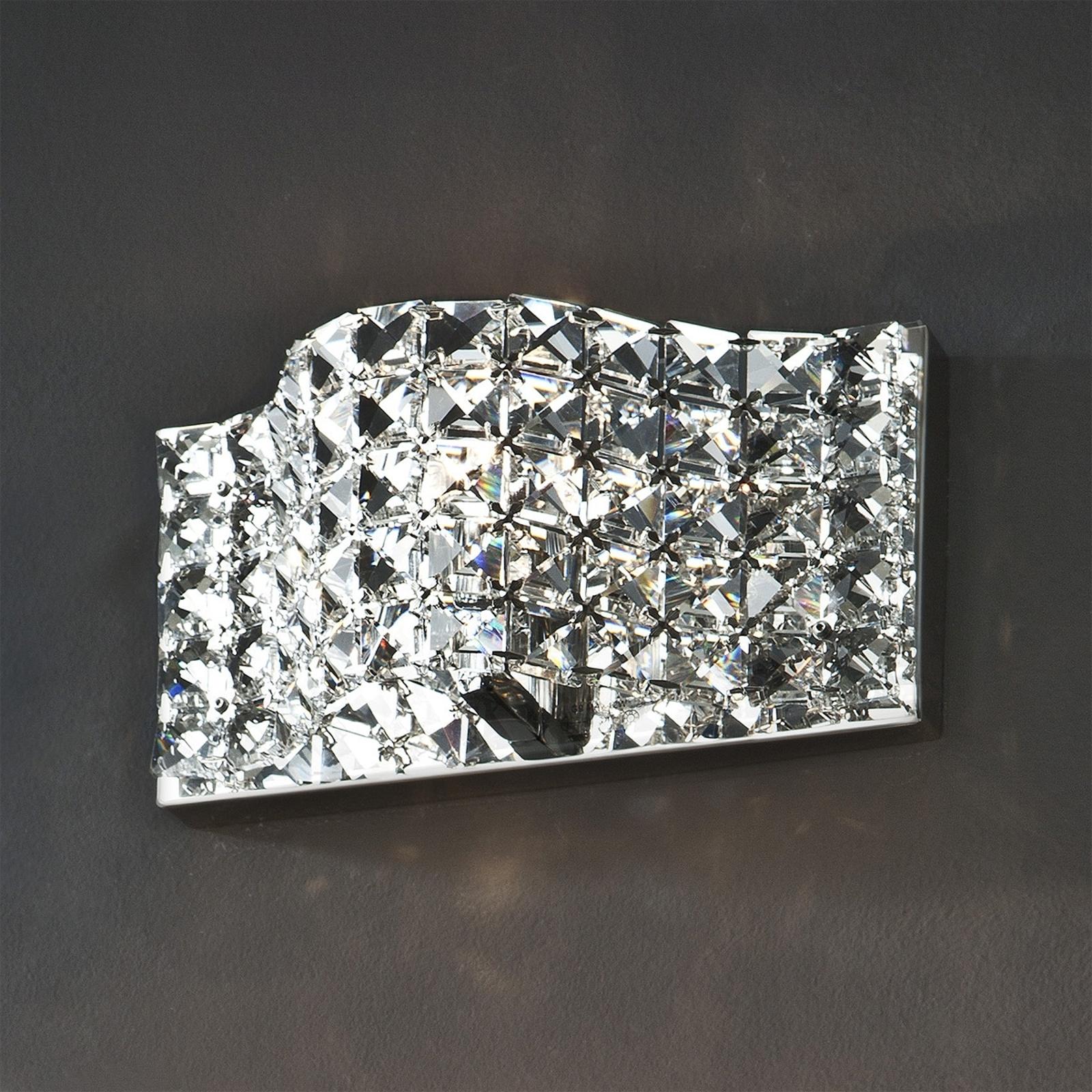 Kristallinen Onda-seinävalaisin, 25 cm