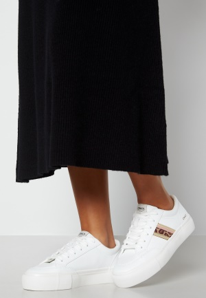 ONLY Liv PU Side Panel Sneaker White 40