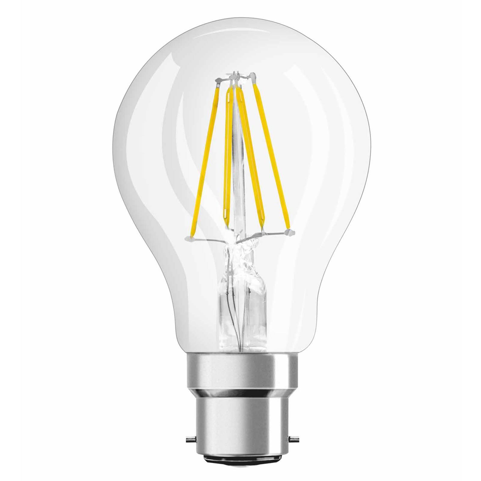 B22 4W 827 LED-hehkulankalamppu