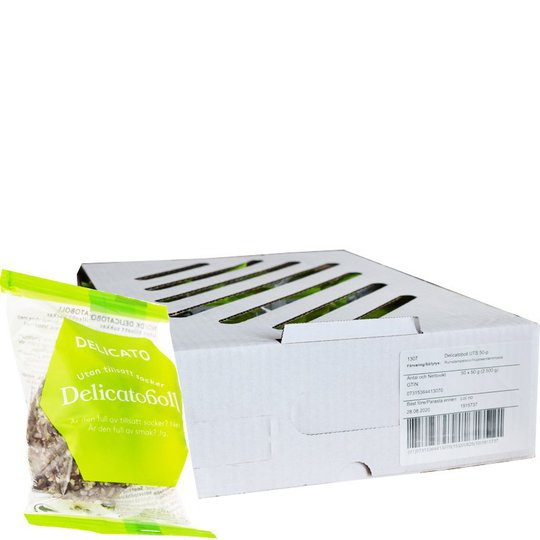 Delicatobollar 50-pack - 55% rabatt