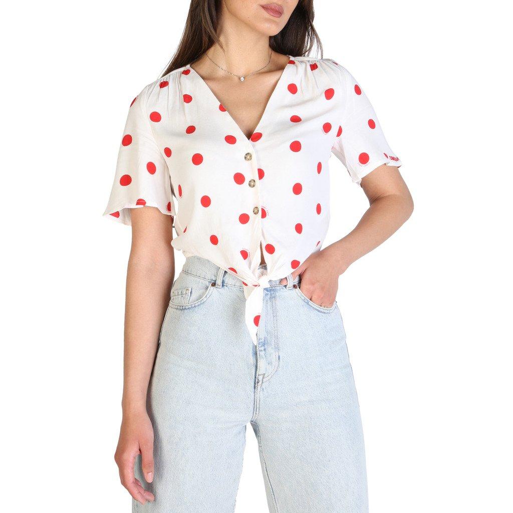 Tommy Hilfiger Women's Shirt White DW0DW09511 - white XXS