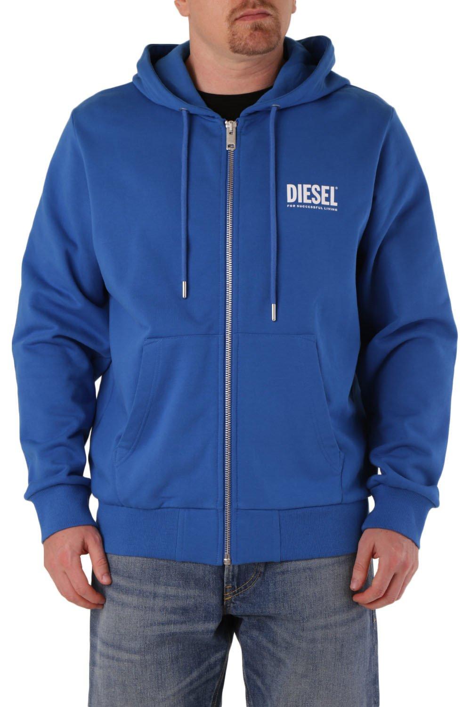 Diesel Men's Sweatshirt Various Colours 294144 - blue-2 L