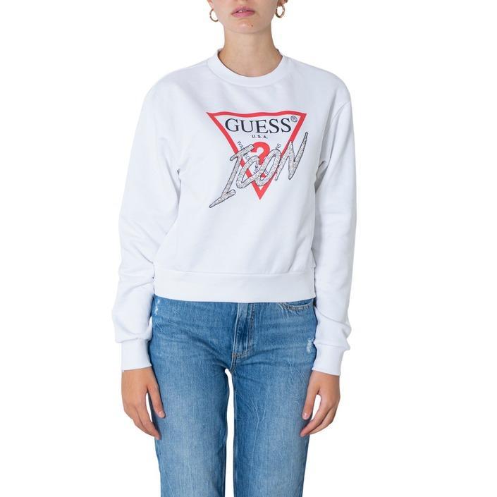 Guess Women's Sweatshirt Various Colours 304906 - white XS