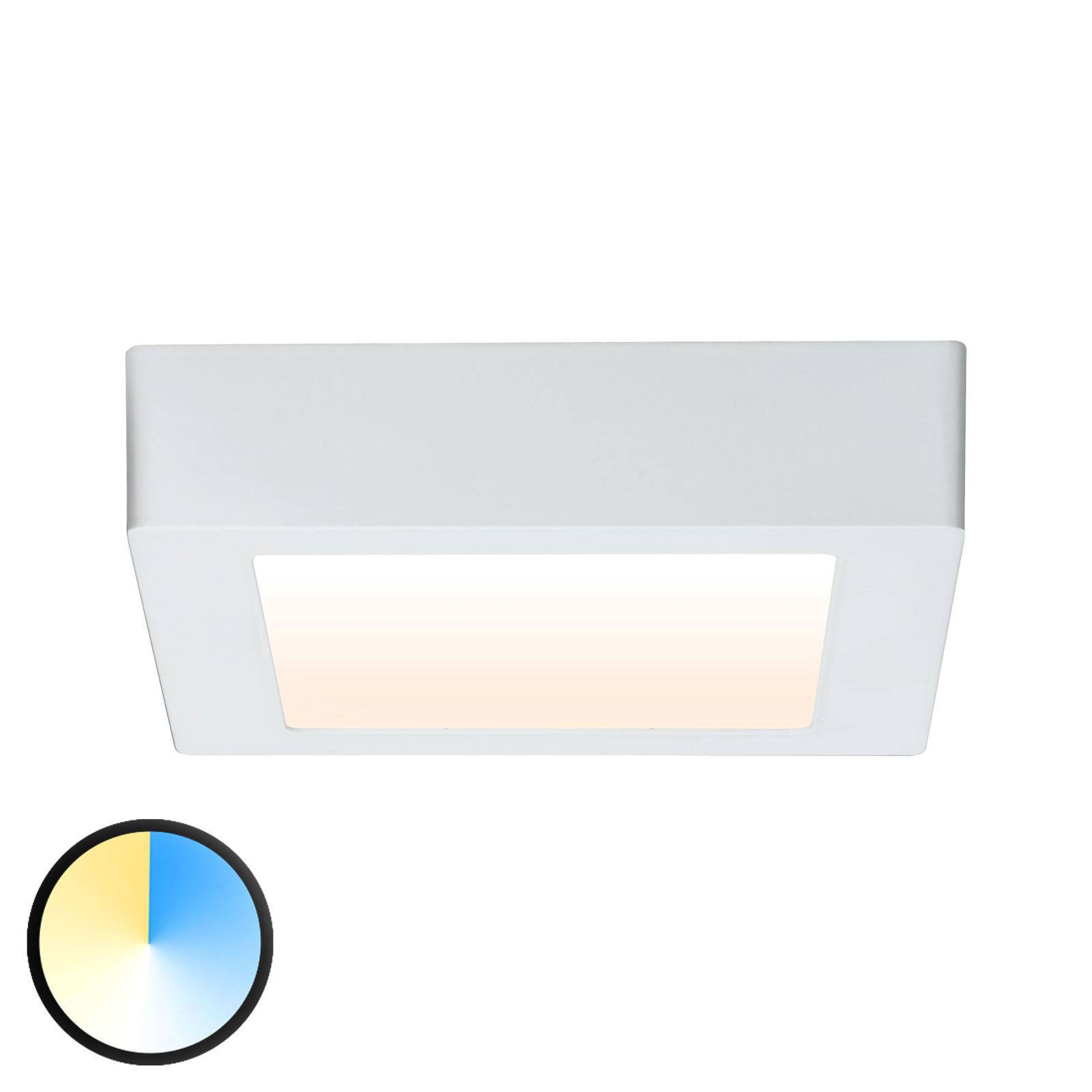 Paulmann Carpo LED-taklampe hvit 17x17 cm