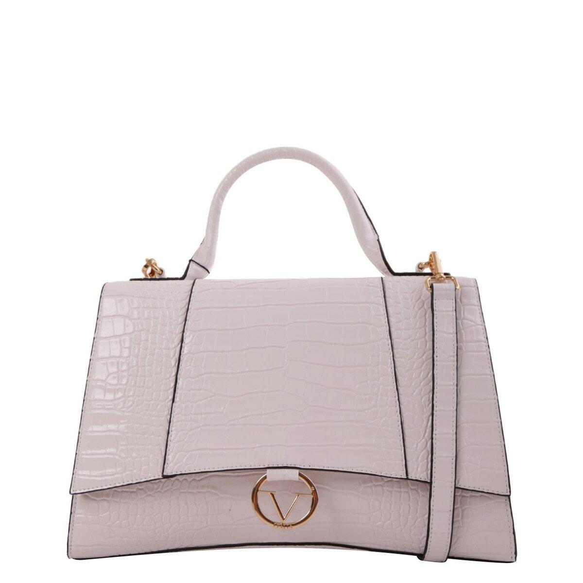 19v69 Italia Women's Handbag Various Colours 319022 - white UNICA