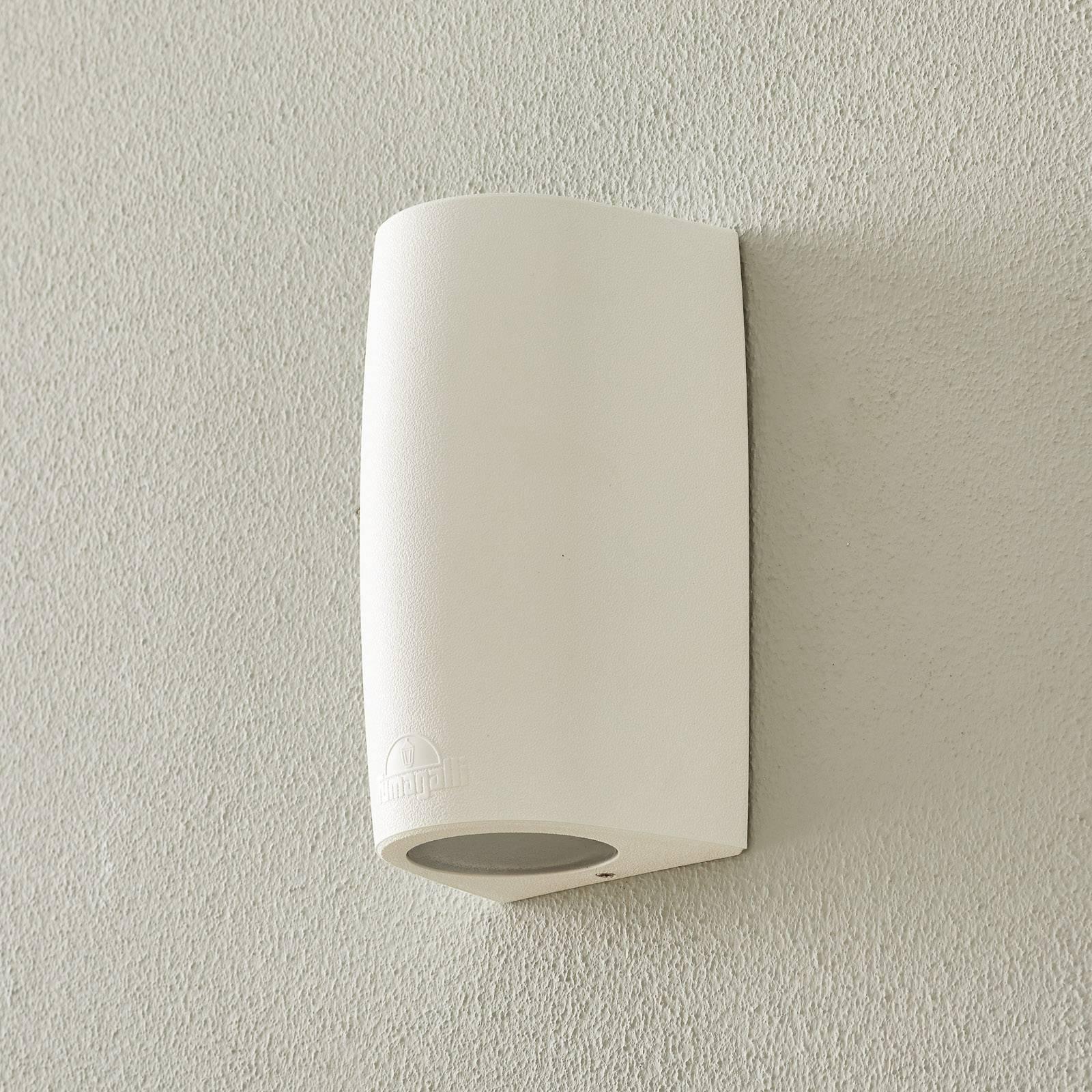 Marta-seinälamppu 9,2 cm 2-lamp.valkoinen/frosted