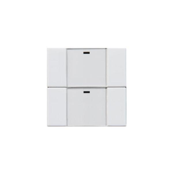 ABB Impressivo 6732-84-500 Painike 2-napainen, langaton valkoinen