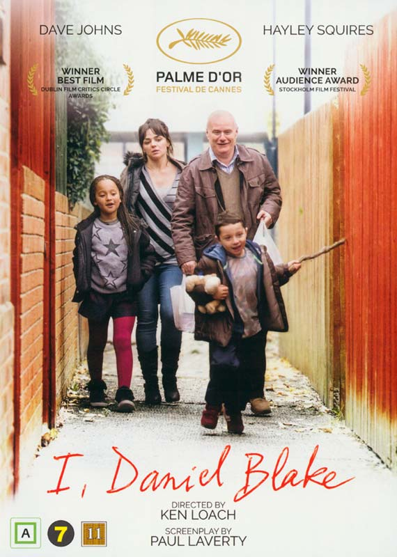 I, Daniel Blake - DVD