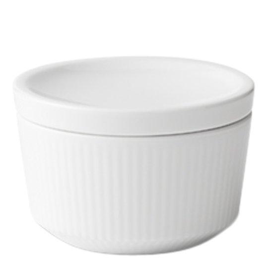 Royal Copenhagen - White Fluted Skål/lock 20 cl