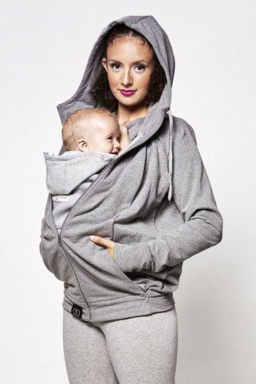 Love Radius Parent's Hoodie, Grey