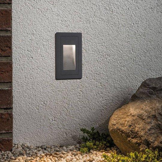 Paulmann High innfelt LED-vegglampe for utebruk