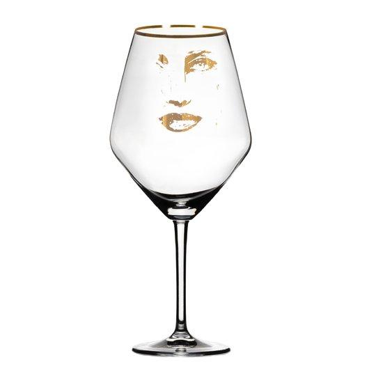 Carolina Gynning - Rödvinsglas Piece of Me Gold 75 cl