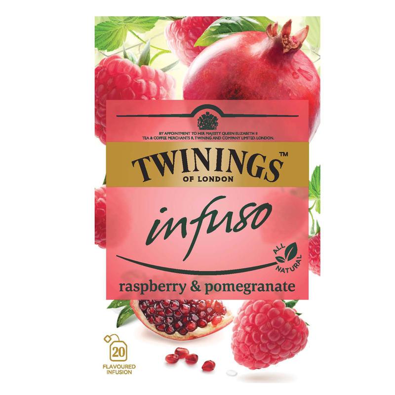 "Te ""Raspberry & Pomegranate"" 20 x 2g - 33% rabatt"