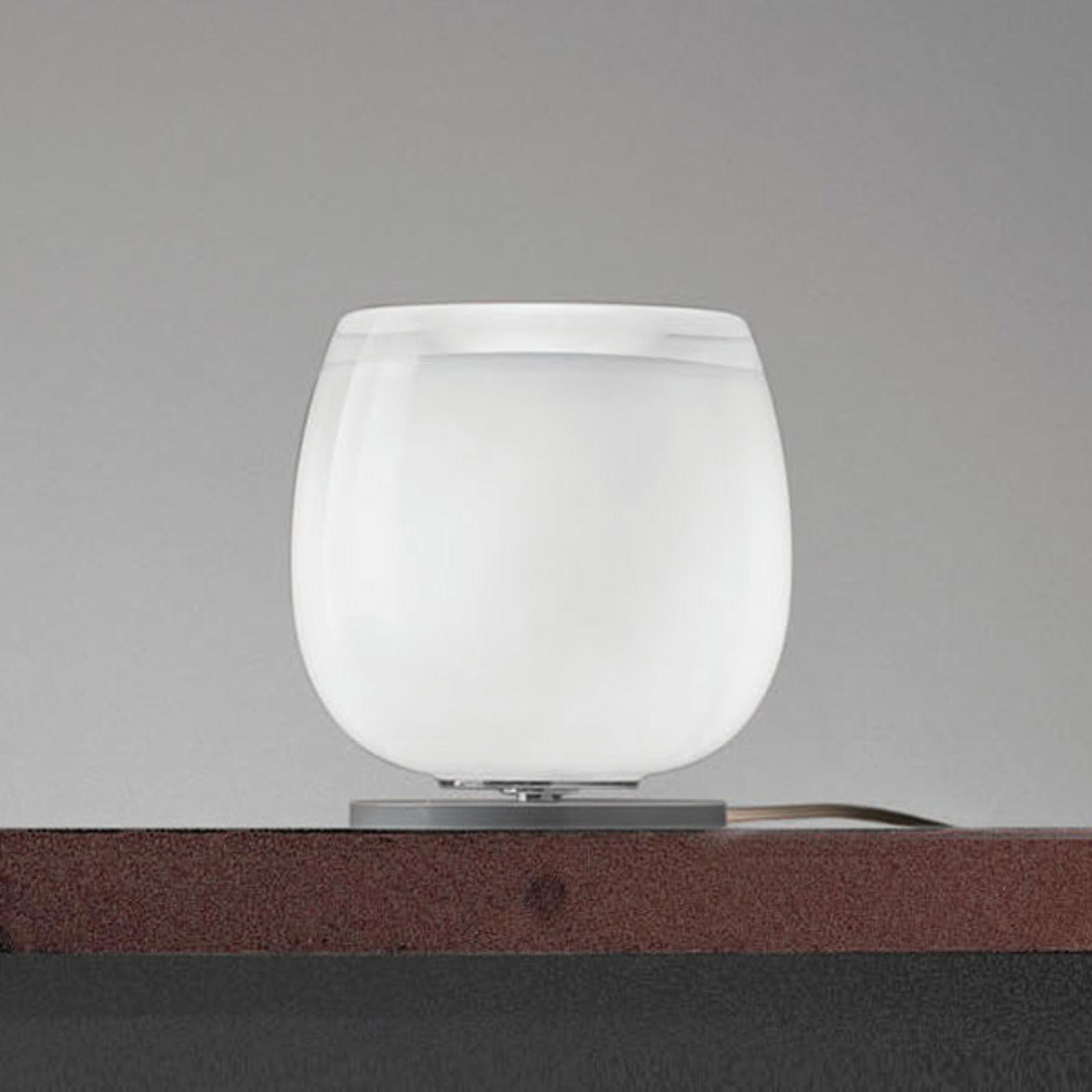 Implode - lasinen pöytälamppu Ø 16 cm