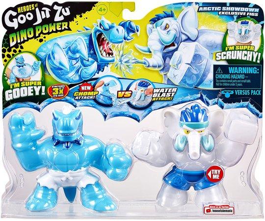 Goo Jit Zu Fighters 2-Pack, Tyro vs Gigatusk