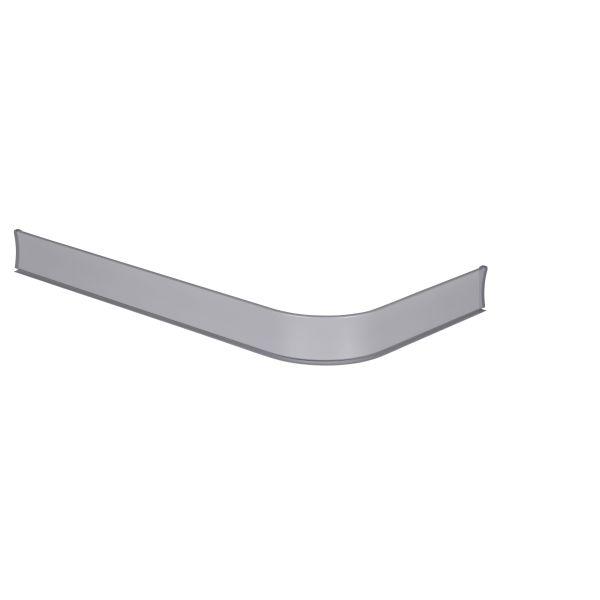 Leijma 8204 Dusjkant vinkel, sølv, 93 x 170 cm Venstre