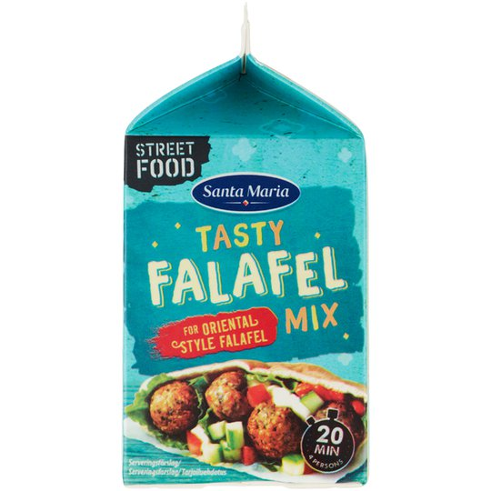 Kikhernesekoitus Tasty Falafel - 27% alennus