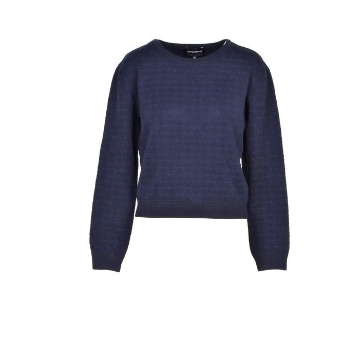 Emporio Armani Women's Sweatshirt Blue 217511 - blue 40