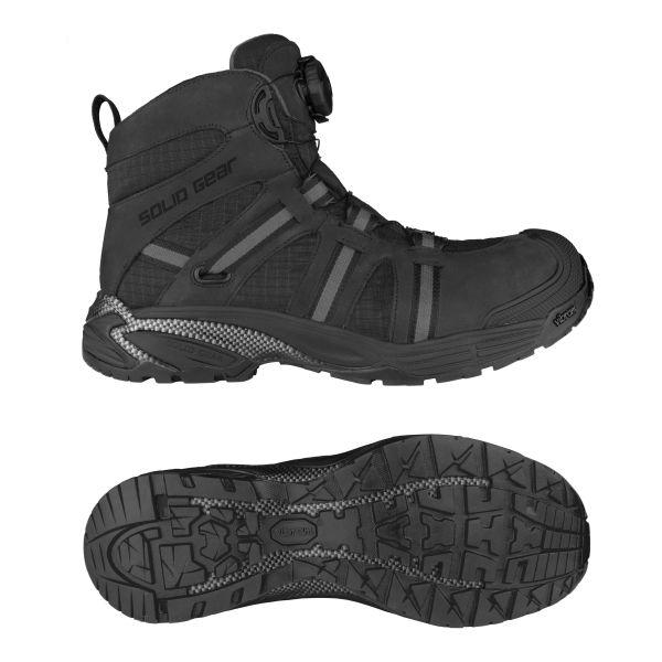 Solid Gear Marshal GTX Vernestøvler S3, BOA, svart 36