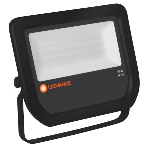 LEDVANCE Floodlight LED LED-valonheitin 50 W, 3000 K, IP65 Musta