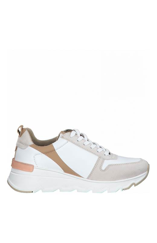 Tamaris Sneakers Vit Beige
