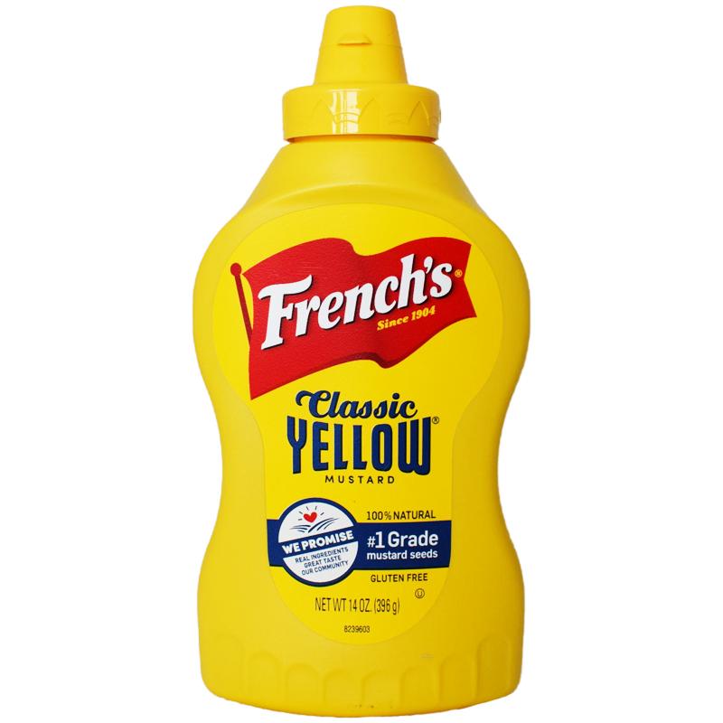 """Senap """"Classic Yellow"""" 396g - 54% rabatt"""