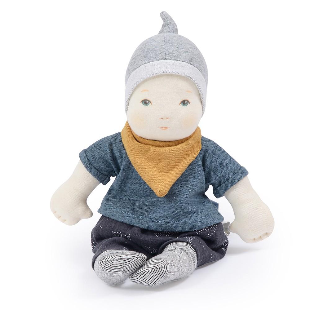 Moulin Roty - Baby boy Doll, 32 cm (710528)