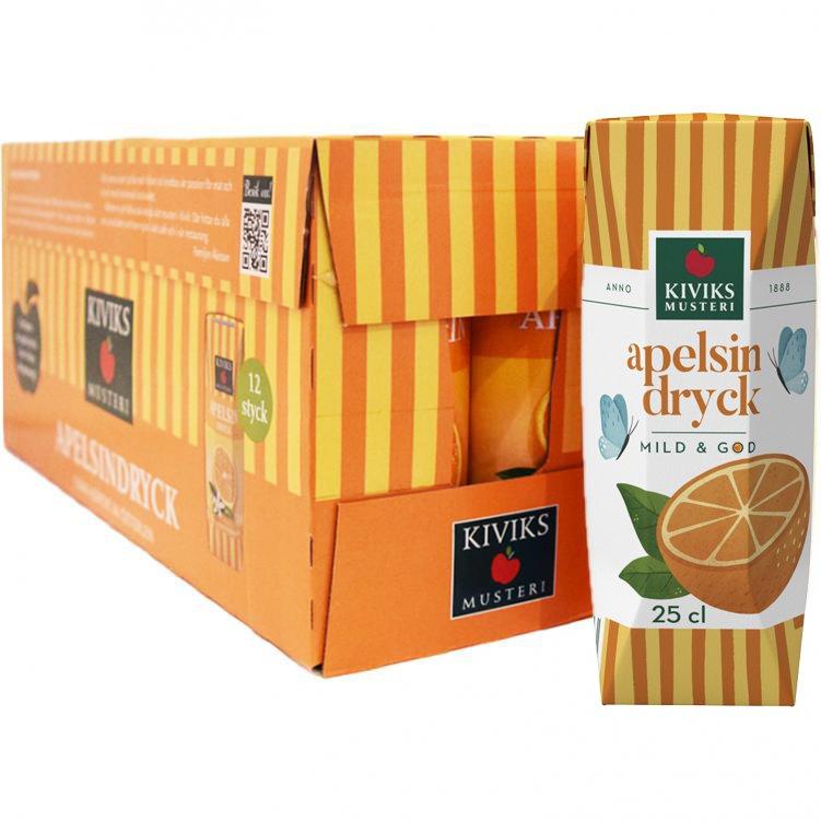 Hel Låda Apelsindryck 12 x 25cl - 34% rabatt