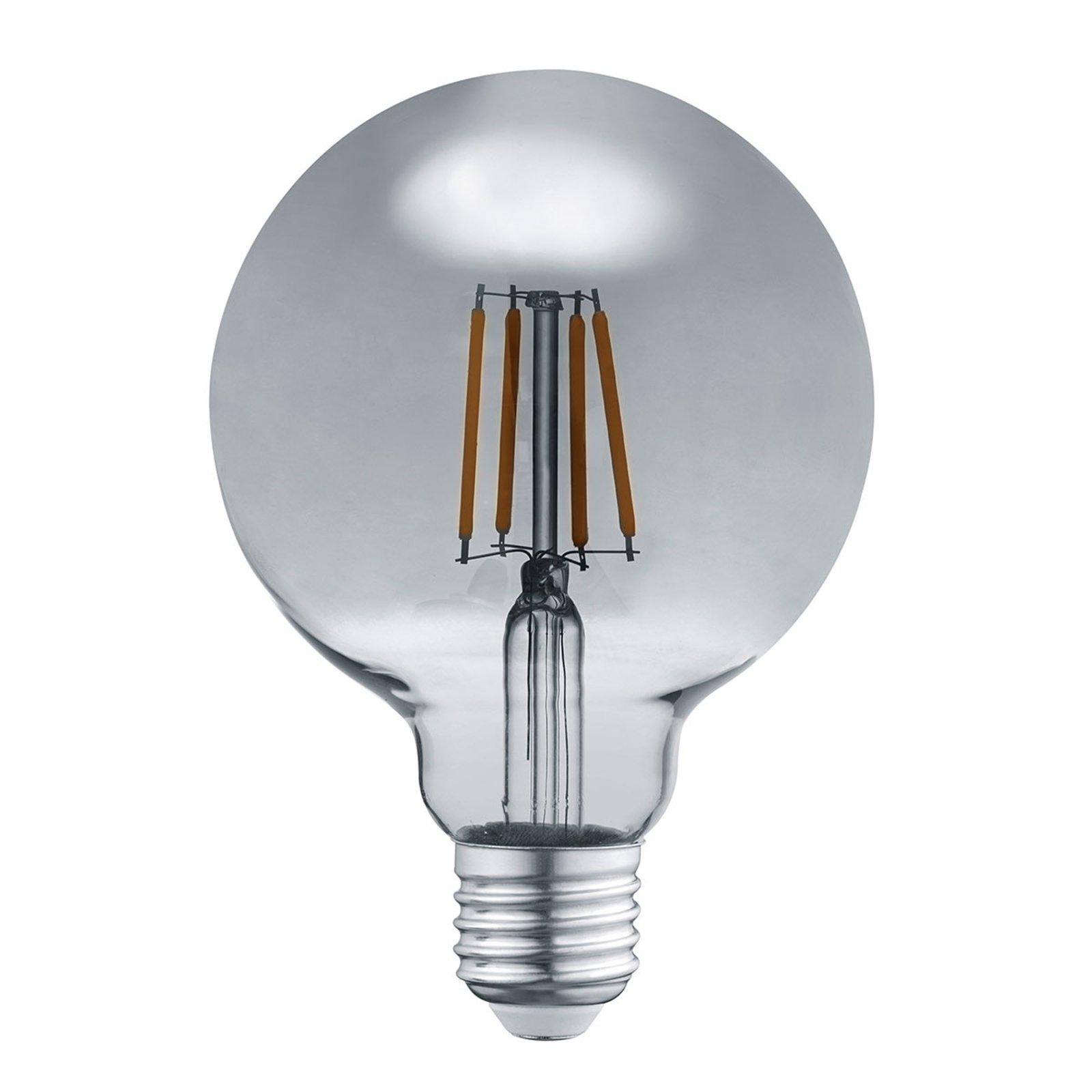 LED-globepære E27 6 W 3 000 K røyk